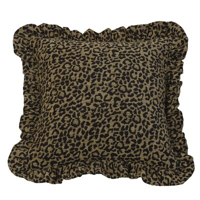 San Angelo Cheetah Print Throw Pillow