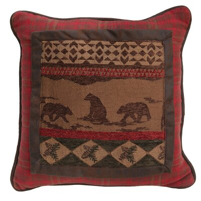 Nichols Bear Throw Pillow