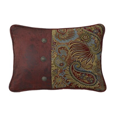 Idris Piped Edges Lumbar Pillow