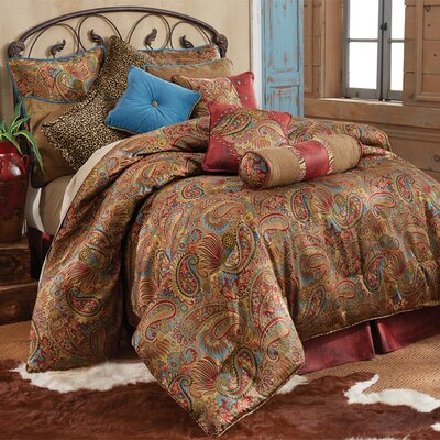 Idris Traditional Comforter Set Size: Twin