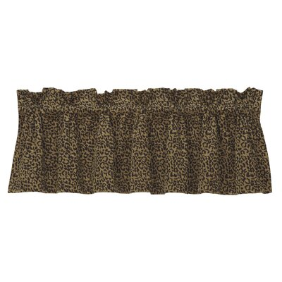 "HiEnd Accents San Angelo Leopard 84"" Curtain Valance at Sears.com"