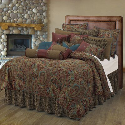 Idris Paisley Comforter Set Size: Super King