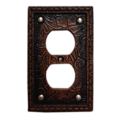 Tooled Resin 2 Outlet Cover (Set of 4)