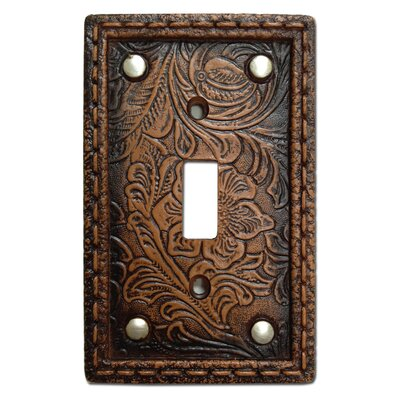 Tooled Resin Single Switch Plate (Set of 4)