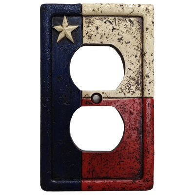 Texas 2 Outlet Cover (Set of 4)