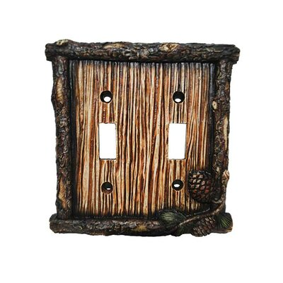 Carlisle Double Switch Plate (Set of 4)
