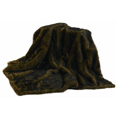 Atascosa Mink Faux Fur Throw Blanket
