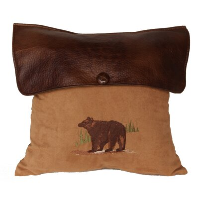 Grotto Bear Lodge Throw Pillow
