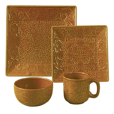 Savannah 16 Piece Dinnerware Set DI4001-OS-MS