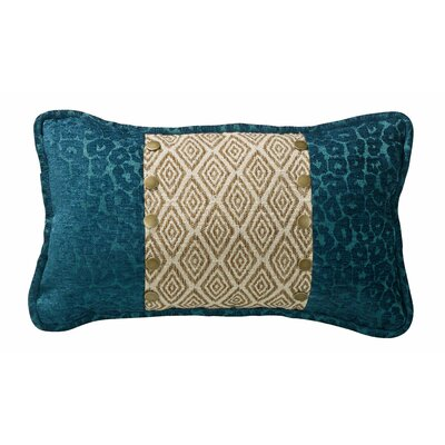 Idella Ikat and Leopard Lumbar Pillow