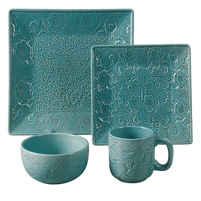 Savannah 16 Piece Dinnerware Set DI4001-OS-TQ
