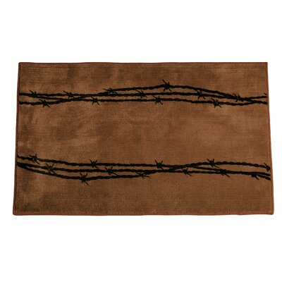 Galyean Chocolate Area Rug
