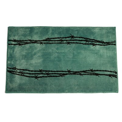 Galyean Turquoise Area Rug