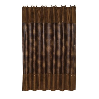 Anderson Leather Shower Curtain