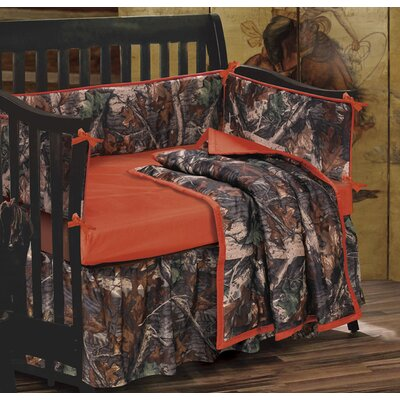 Camo 4 Piece Crib Bedding Set