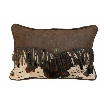 Bader Faux Leather Lumbar Pillow