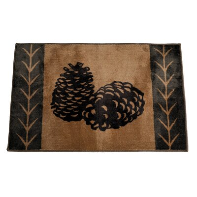 Carlisle Chocolate/Tan Area Rug