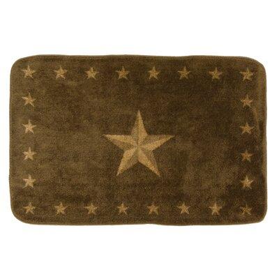 Alexis Star Dark Chocolate Southwestern Area Rug Rug Size: 2 x 3