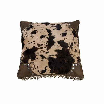 Bader Scalloped Faux Throw Pillow