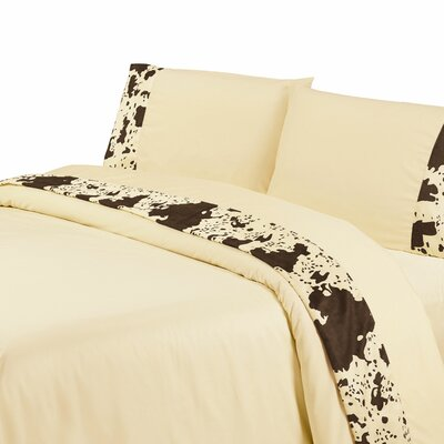 Bader 350 Thread Count Sheet Set Size: Queen, Color: Cream