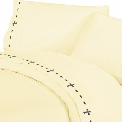 Galyean Solid 350 Thread Count Sheet Set Size: King