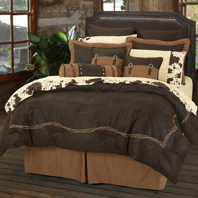 Galyean Embroidered Comforter Set Size: Super Queen