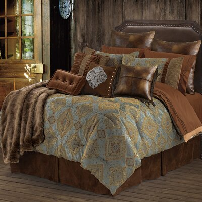 Bianca II 5 Piece Comforter Set Size: Super King