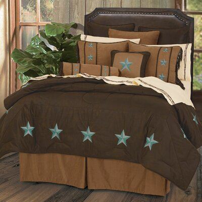 Kennison Fabric Comforter Set Size: Twin