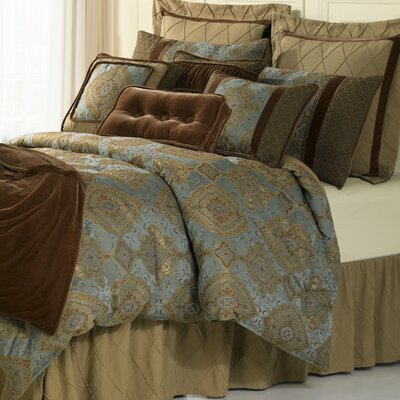 William 4 Piece Comforter Set Size: Queen