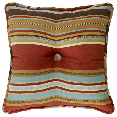 Elliot Striped Tufted Pillow