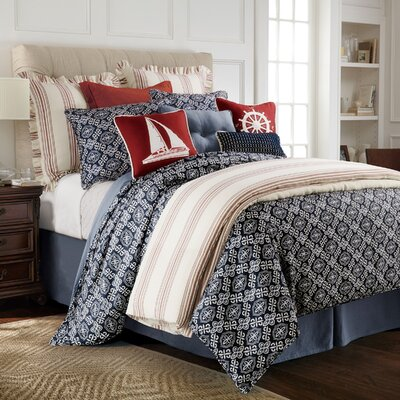 Monterrey 4 Piece Duvet Cover Set Size: Super King