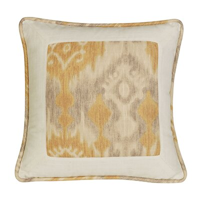 Cynda Ikat and Ogee Pillow