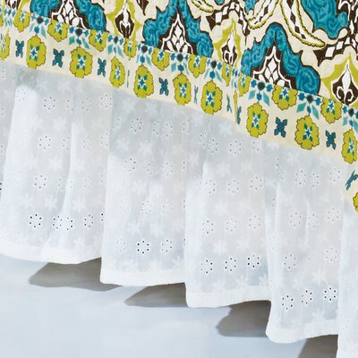 Koah Eyelet Bed Skirt Size: Full