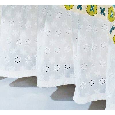Koah Eyelet Bed Skirt Size: King