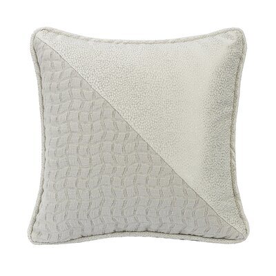 Ponte Half and Half Throw Pillow