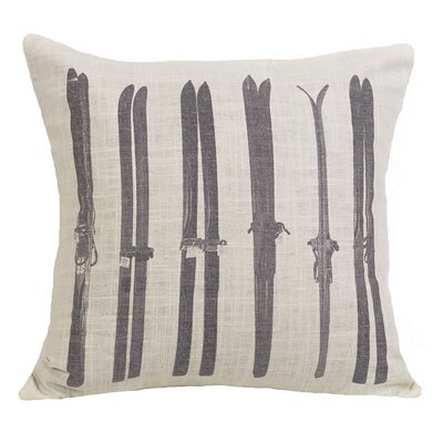 Paden Ski Printed Throw Pillow