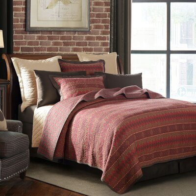 Lopez 3 Piece Quilt Set Size: King