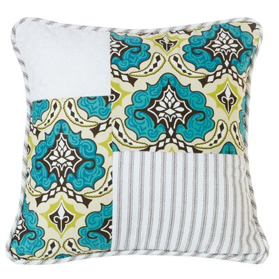 Barrier Patchwork Throw Pillow