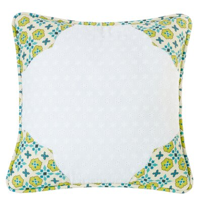 Barrier Scalloped Edges Throw Pillow