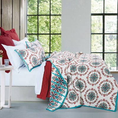 Noran 3 Piece Quilt Set Size: Full/Queen