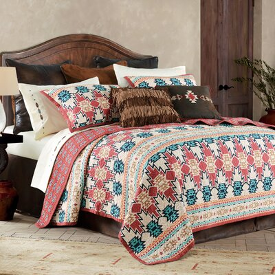 Glenn 3 Piece Quilt Set Size: King