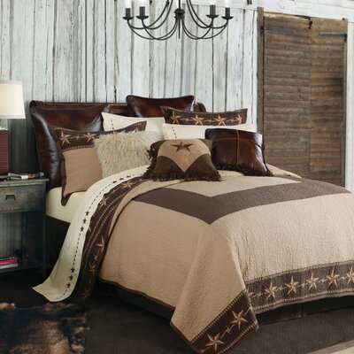 Cooley 3 Piece Quilt Set Size: King