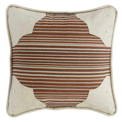 Larsen Faux Leather Throw Pillow