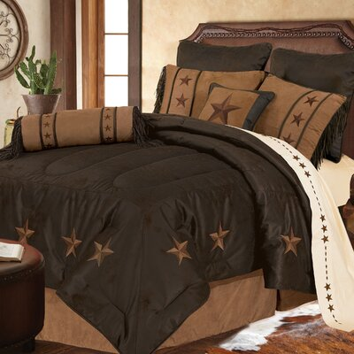 Kennison Comforter Set Size: King, Color: Tan
