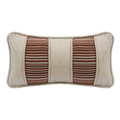 Larsen Faux Leather Lumbar Pillow