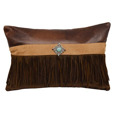 Glenn Faux Suede Lumbar Pillow