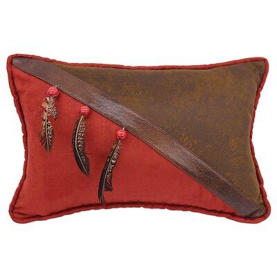 Glenn Faux Leather Lumbar Pillow