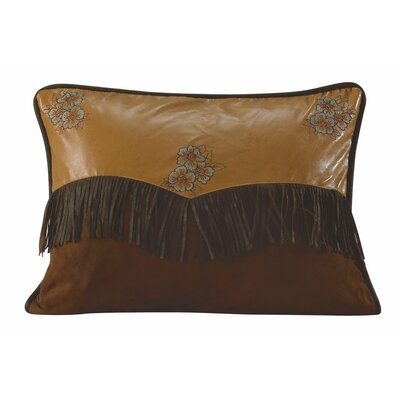 Bryce Canyon Embroidered Floral Lumbar Pillow
