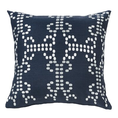 Jacobus Throw Pillow with Embroidery Detail