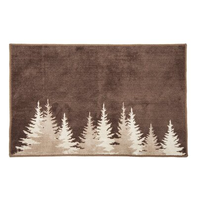 Alifan Pines Bath Rug
